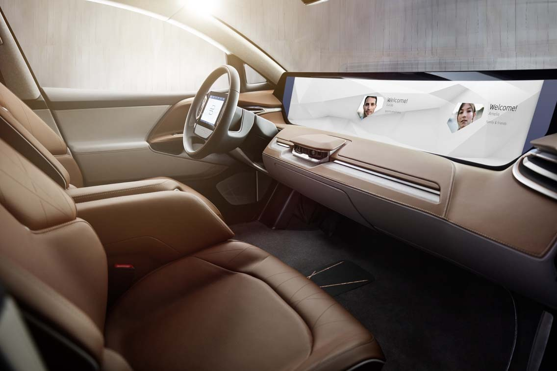 byton m byte concept interior sed
